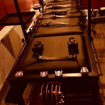 BDSM equipment at the House of Sheba