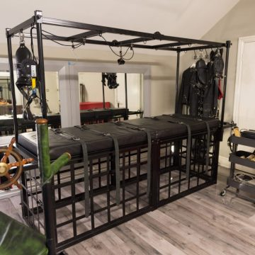View of dungeon equipment